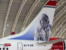 Norwegian's First British Tailfin Hero, Roald Dahl, Adorns Our Newest Boeing 737