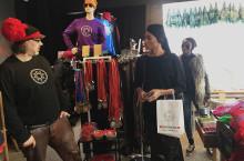 New York-designer gillar den genuina entreprenörsandan i Jokkmokk