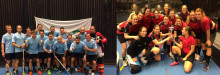 NK Villan och After Work vann Nyköpingskvalet i Sweden Floorball Cup