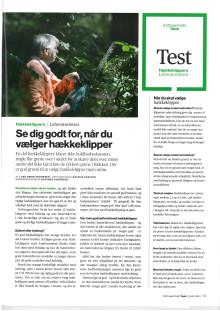 Batteri hækkeklipper HSA 66 bedst i test hos TÆNK