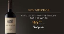 Don Melchor - nok en gang blant verdens topp 100 viner