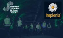 Samarbetet med Implenia Sverige AB stärker upp målområdet  för Stockholm Tunnel Run Citybanan 2017