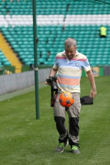 Flash, bang, wallop as Paisley man captures caring side of Scottish football