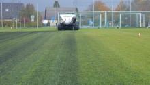 Fördelar för idrott, miljö och klimat på Sveriges första fotbollsplan med biokol
