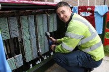 Wembley appointment beckons for South Shields broadband engineer