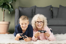 Interflora tar Grandparents weekend till Sverige