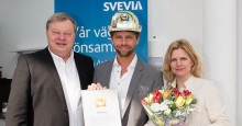 Jens Andreasson Årets Byggchef 2016