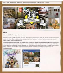 Nya hemsidan för Frövifors Pappersbruksmuseum nu klar