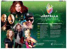 Järfällafestivalen program