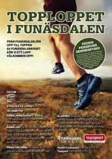 Dags för Topploppet i Funäsdalen