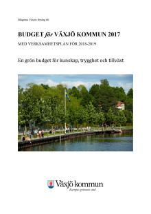 Blågrönas budget 2017