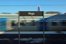 Pressinbjudan:  Invigning av nya pendeltågsstationen Vega