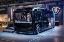 Neues Scania Konzept NXT zeigt Zukunftsvision für urbane Transporte