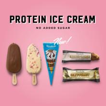 Barebells räddar sommaren – utökar sitt glassiga sortiment med ny smak