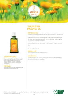 Calendula Massage Oil