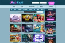 Nya Casinon: Ypperliga Slots Café ger ut 50 Free Spins