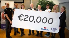 "Stena Line and its customers  ""Round Up for Charity"""