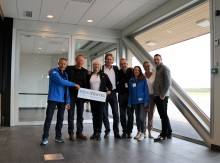 Invigning av holländsk chartersatsning till Skellefteå.