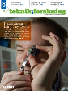 Teknik;Forskning 3/12 - Fjärilsvingar bar på ny teknik