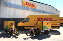 DHL utökar sina leveranser via elcyklar till Malmö