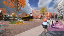 Lund planeras få fler bostäder och en ny entré till stadskärnan