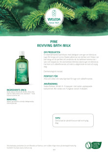 Pine Reviving Bath Milk