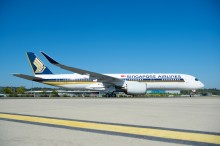 See the film: SINGAPORE AIRLINES TAKES DELIVERY OF WORLD'S FIRST AIRBUS A350-900ULR
