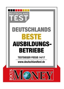 Santander gehört zu Deutschlands besten Ausbildungsbetrieben 2017