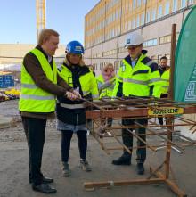 Industrimark blir hyresrätter i Älvsjö
