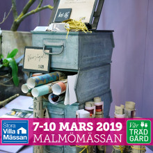Inbjudan till pressfrukost - Stora Villamässan & Vår Trädgård 2019