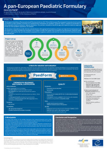 Poster Pan European Paediatric Formulary