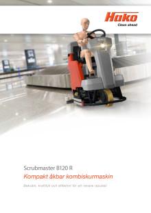 Broschyr Scrubmaster B120 R