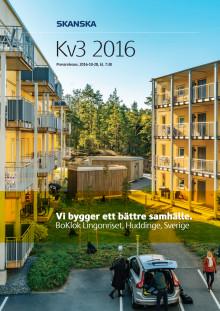 Skanska Q3 2016
