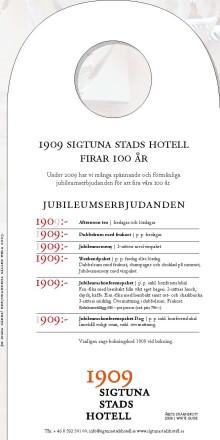 100 års jubileum med pompa och ståt