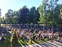 Gratis spelning för unga i Stadsträdgården i Lidköping