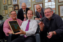 MP celebrates business growth from high-speed broadband