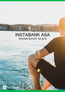 Instabank Interim Report Q2 2019