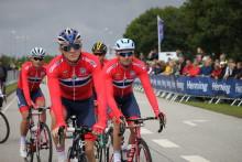 Medieinformasjon rundt sykkellandslaget under VM i Bergen