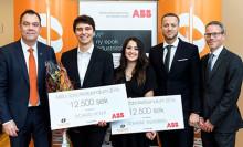 Smart robothand fick ABB:s robotikstipendium 2016