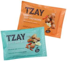 Vegetarisk middag på ett kick med TZAY Happy Soy Skewers och Cute Soy Bits