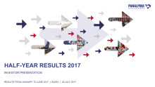 Half-Year Results 2017 – Investor Presentation
