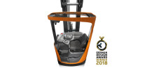 German Design Award 2018 till skjutstativtrucken BT Reflex R-serien