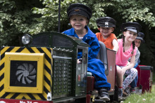Let off steam with the kids this summer