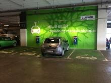 Hurtig strøm til elbiler på Fisketorvet