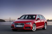Säljstart för Nya Audi A4 och A4 Avant