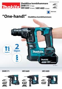 DHR171 HR166D HR140D leaflet