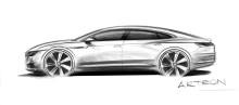 Arteon − ny femdörrars coupé från Volkswagen officiell