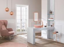 Farbe im Bad: Ob sanft oder stark – Hauptsache ausdrucksvoll und individuell