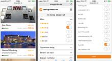 Nu är det enklare att jämföra och hitta hotell i din mobiltelefon