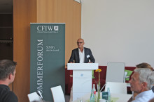 3. Sommerforum und Förderpreisverleihung des Corporate Finance Institute Wildau (CFIW)